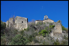Old village of Rochecolombe (Ted DEMELUN) Tags: france nature landscapes pentax paysages ardeche k5