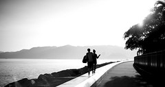No matter what happens, I will always be with you. (Wilson Au | 一期一会) Tags: monochrome canon hongkong blackwhite