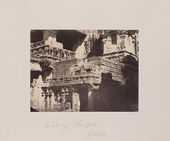 Rock cut Temples, Ellora. (SMU Central University Libraries) Tags: india mutt buddhism caves temples math mutts hindu hinduism maths jains vihara matha jainism monasteries elura mathas kailasa verul viharas rockcutarchitecture kailashnath kailasanath buddhistcavetemples