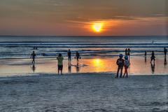 Kuta beach sunset (M.Ancian & A.Uriarte) Tags: bali indonesia lombok hdr kuta indonésie