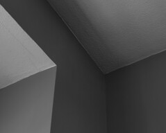 Corners (mph1966) Tags: light shadow blackandwhite bw lines wall corner canon iso100 paint shadows angle painted gray angles sigma ceiling line 7d 365 grayscale f8 30seconds corners 30mm sigma3014 3014 project365 canon7d
