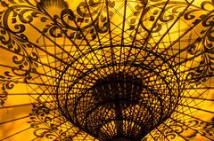 yellow parasol (hjuengst) Tags: light sun art golden licht asia asien burma kunst bamboo sunshade gelb parasol myanmar sonne birma handcraft bagan handwerk bambus sonnenschirm schneknste vision:mountain=0532 vision:text=0553 vision:sky=0609 vision:plant=0788