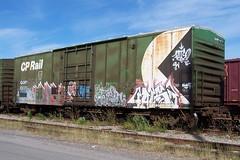 QGRY 85030 A Ottawa, Ontario 08212007 ©Ian A. McCord (ocrr4204) Tags: ontario canada train wagon kodak ottawa traincar pointandshoot mccord ocr walkley z740 freightcar ocrr ottawacentralrailway walkleyyard ianmccord ianamccord