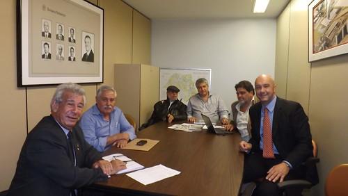 Deputado Antônio Roberto em reunião com FEOMG e COBRAP