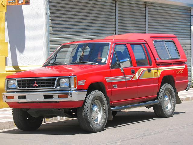 4x4 4wd pickup l200 mitsubishi pickuptrucks camionetas 25d crewcab mitsubishil200