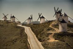 IMG_8297 Windmills in Consuegra 2 (jaro-es) Tags: espaa canon spain spanien spanelsko eos450 absolutegoldenmasterpiece
