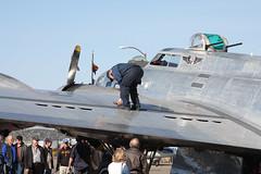 "B-17G ""Sentimental Journey"" (twm1340) Tags: arizona flying sedona az b17 journey boeing sez douglas fortress caf sentimental b17g 4483514 n9323z 31mar2014"