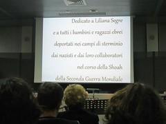 Liliana e la sua stellina - Pesaro, 16 aprile 2014 (cepatri55) Tags: shoa liliana 2014 segre stellina olocausto cepatri cepatri55