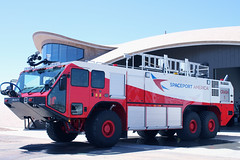 ARFF at Spaceport America's Spaceport Operations Center