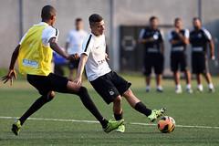 Matheus Santos e Robson (Santos Futebol Clube) Tags: ct santos fc rei sub20 treino pel