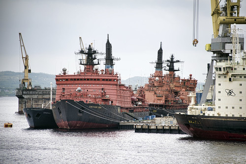 Yamal & other Russian Icebreakers