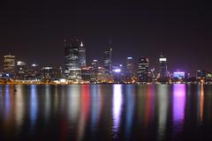 Perth CBD (quarterdeck888) Tags: city reflections nikon flickr nightlights cityscapes frosty lorry perth citylights waterreflections quarterdeck perthcbd d7100 jerilderietruckphotos jerilderietrucks perthnightlights