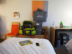 Hotelroom at Novotel, Gdansk!
