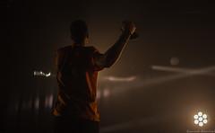 Épicerie Moderne (Renaud Alouche) Tags: concert épicerie moderne lyon venisieux monlyon live music hiphop vauxjazz avaulxjazz festival musique light lights night dark black charles singer microphone energy