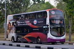 SBS Transit Volvo B9TL Wright Eclipse Gemini II (nighteye) Tags: sbstransit 新捷运 volvo b9tl wright eclipse geminiii weg2 eurov sbs3797r service65 esso energyliveshere singapore bus