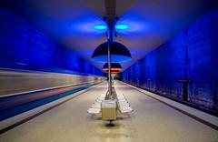 Cementery Station, Munich (TOMAS ERNESTO MUNOZ) Tags: friedhof munich germany underground amazing combination cementery alemania alemagne train tren subte subite sharpnes sharp bestofflickr 36mp fullframe grosformat