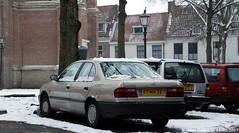 Nissan Primera 1.6 LX 1992 (XBXG) Tags: fthh32 nissan primera 16 lx 1992 nissanprimera haarlem nederland holland netherlands paysbas old japanese classic car auto automobile voiture ancienne japonaise japon japan asiatique asian vehicle outdoor