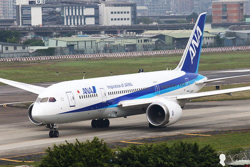 All Nippon Airways - ANA Boeing 787-8 Dreamliner JA801A New Paint TSA/RCSS
