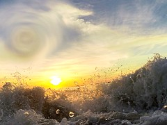 Sunset (ericanderson7) Tags: gulfofmexico waves sunset