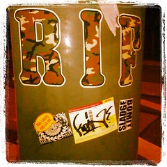 RIF-Crew, Hesher Park, Bomit, Sladge (Sladge (SL@GE, SLDG)) Tags: streetart square sticker stickerart stickers leipzig le squareformat aufkleber slaps lordkelvin sladge iphoneography instagramapp uploaded:by=instagram
