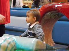 Discovering the Playground (Marina A. Miller) Tags: baby alex rain marina mall shopping fun day play rainy burnaby meredith brentwood angelyna tarya