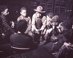 a029555 Boy Scouts (Children's Bureau Centennial) Tags: chicago boys hat children 1940s 1942 cubscout historyofmedicine nationallibraryofmedicine africanamericanchildren africanamericanboys childrensbureau cubscoutuniforms