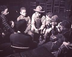 a029555 Boy Scouts (Children's Bureau Centennial) Tags: chicago boys hat children 1940s 1942 cubscout historyofmedicine nationallibraryofmedicine africanamericanchildren africanamericanboys childrensbureau cubscoutuniforms
