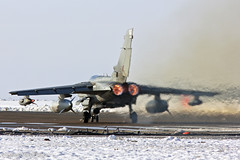 Tornado GR4 087 ZD739 Take Off (markranger) Tags: snow canon snowy tornado takeoff 087 gr4 reheat 550d fastjet zd739 rafmarham160113