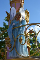 The Blue Fairy (thatdisneyprincess) Tags: park disneyland magic parade fairy pinocchio disneylandparis dlrp thebluefairy