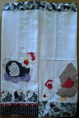 (jessirodriguess) Tags: galinha pano patchwork prato copa cozinha enxoval patchaplique