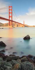 GG Verto (boingyman.) Tags: sf sanfrancisco bridge seascape water landscape gg cityscape goldengatebridge scape vertorama boingyman