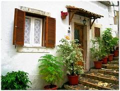 Lisboa, Alfama (Jocelyn777) Tags: houses plants portugal architecture effects lisboa lisbon textures pottedplants textured doorsandwindows architecturaldetails historictowns worldtrekker