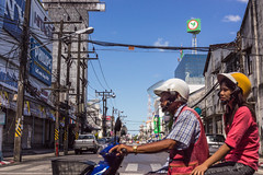 Phuket Town (gasdust) Tags: travel bike asia thai phuket oldtown タイ バイク アジア a55 プーケット α55