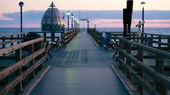 Sea bridge (Diggler Photography) Tags: great elegant sonnenaufgang ostsee seabridge zingst seebrcke romantisch