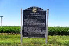 Dobytown Historical Marker (J. Stephen Conn) Tags: nebraska ne buffalocounty fortkearny
