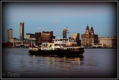 Royal Iris of the Mersey (Zippy's Revenge) Tags: ferry night liverpool evening waterfront merseyside liverbuildings rivermersey merseyferries royalirisofthemersey