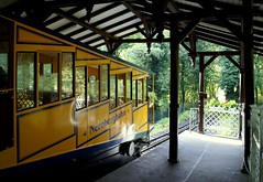 Wiesbaden, Nerobergbahn, Bergstation (funicular railway, upper station) (HEN-Magonza) Tags: wiesbaden hessen hesse neroberg funicularrailway nerobergbahn