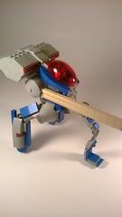 "G0-L13 ""Littlefoot"" Precision Weapon Platform (Captain Herffenblerf) Tags: lego space walker scifi mech starfighter"