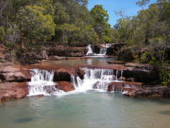 Cape York - Twin Falls III (Fehlfokus) Tags: waterfall australia outback capeyork