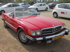 Mercedes Benz 450 SL (yoel_tw) Tags: car mercedes automobile convertible mercedesbenz 450sl