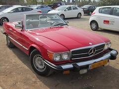Mercedes Benz 450 SL (yoel_tw) Tags: car mercedes automobile convertible mercedesbenz 450sl