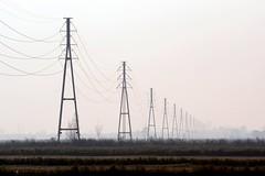 Tralicci a ripetizione () Tags: landscape photography photo foto photographer photos fotografia pylons pali paesaggio stefano fotografo tralicci trucco zush d7100 stefanotrucco