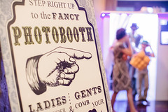 Photo Booth Welcome Sign