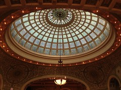 "Dome in the Chicago Cultural Center • <a style=""font-size:0.8em;"" href=""http://www.flickr.com/photos/109120354@N07/11574537866/"" target=""_blank"">View on Flickr</a>"