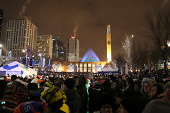 downtown edmonton fireworks events 2014
