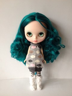 Custom factory blythe Alexis Emerald