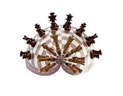 Chess Planet (Rafael Vila) Tags: photoshop chess gimp planet effect chessboard droste mathmap