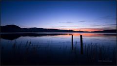 Quel momento particolare (beppeverge) Tags: lake sunrise dawn al