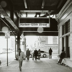 Square rules (__Bentom Wyemji__) Tags: nyc station harlem gettyimages zemanta