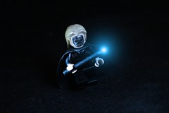 Lucius Malfoy (Jarhead98) Tags: photoshop miniature lego edited wand harry potter spell minifigure malfoy lucius